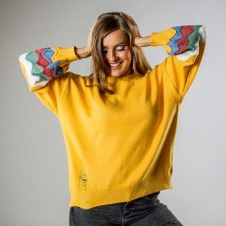 Pulover Yellow Cozy